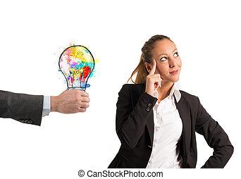 collega, suggests, idea
