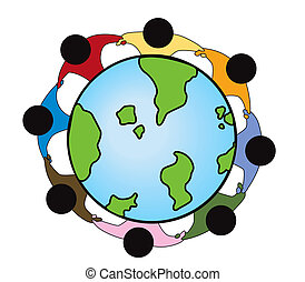 collegamento, globale