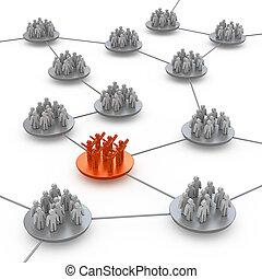 collegamento, squadre