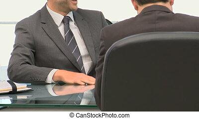 collega's, klesten, zakenman