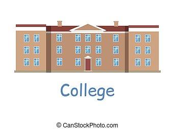 "Large building with title ""Harvard Business & Pleasure ...  |Brown University Building Cartoon"
