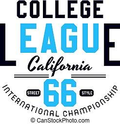 college league