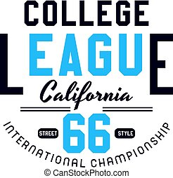 college league