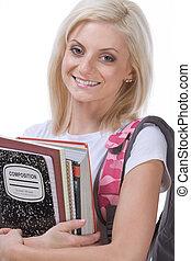 College or High school schoolgirl woman student