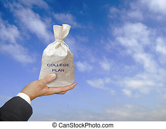 college plan as a gift