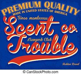 College sport typography, t-shirt graphics, vectors