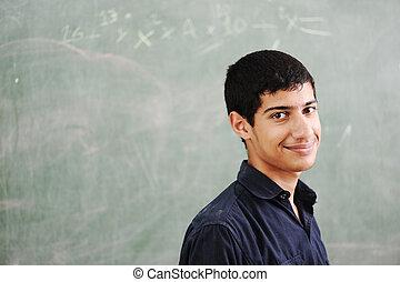 College teenage student