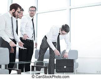 colleghi, posto lavoro, affari
