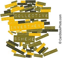 collettivo, piano, investimento