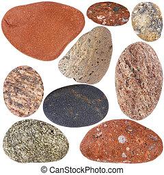 collezione, pietre