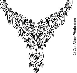 collier, conception mode