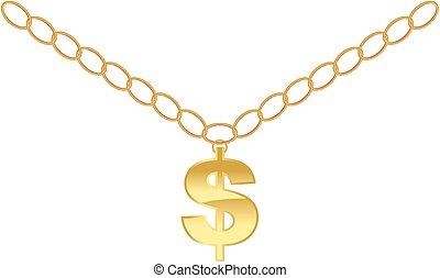 collier, dollar