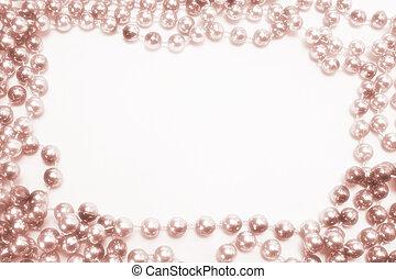 collier, perlé