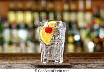 collins, cocktail, tom