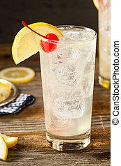 collins, klassisch, erfrischen, cocktail, tom