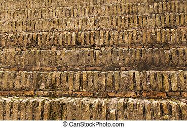 colliseum, 石, 古代, 劇場, ローマ人, 作られた, ステップ, ∥あるいは∥, ステージ