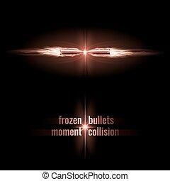 collision, balles