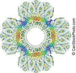 Collorful Crochet Doily