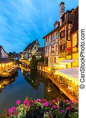 Colmar France Night