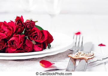 colocação tabela, romanticos