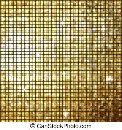 coloeful, light., eps, brillante, 8, cuadrados, mosaico
