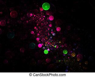 Coloful bubbles