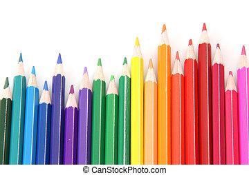 coloful pencils
