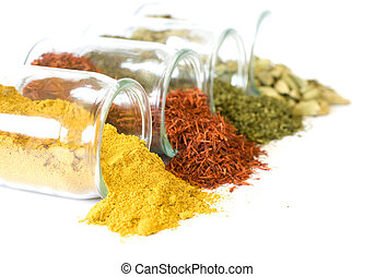 Coloful spices