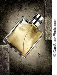 Cologne bottle - A still life of a cologne or perfume bottle...