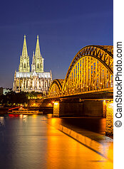 Cologne Cathedral Germany - Cologne Cathedral and...