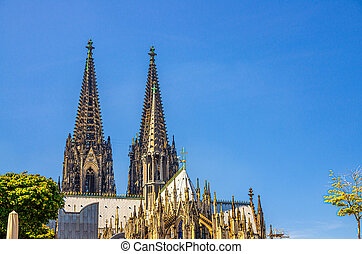 Cologne Cathedral Roman Catholic Church of Saint Peter gothic architectural style