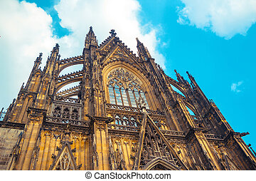 Cologne Cathedral. World Heritage. - Cologne Cathedral....