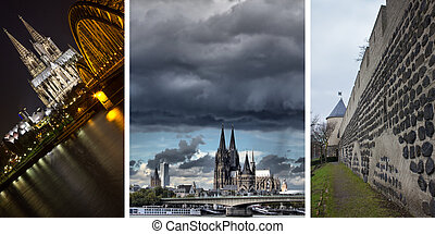 cologne city background