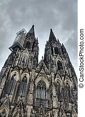 cologne dom as a hdr picture
