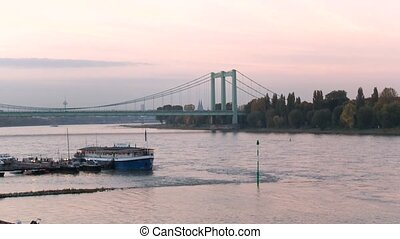 Cologne With River Rhein