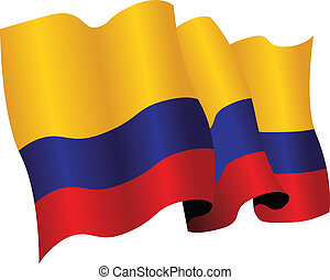 colombia flag - colombian flag