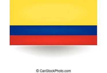 Colombia Flag - Official flag of Colombia.