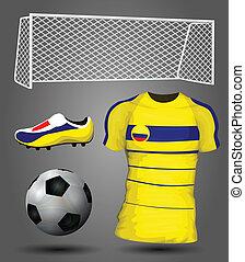 colombia, futball, mez