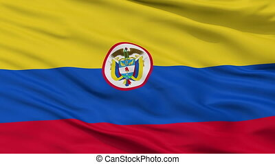 Colombia Naval Ensign Flag Closeup Seamless Loop - Naval ...