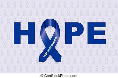 colon awareness ribbon