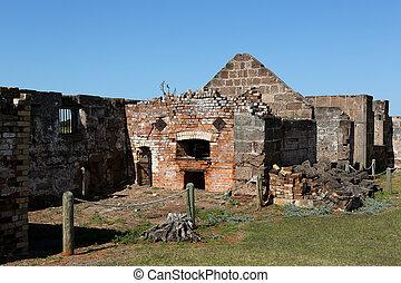 colonia penale, costruzioni