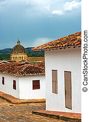 Colonial Architecture and Cathedral Dome