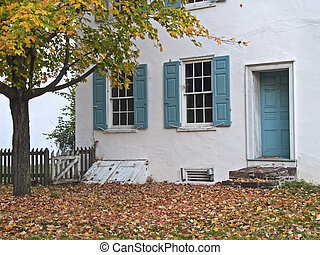 Colonial Autumn - A historic colonial home in Washington...