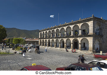 city hall antigua guatemala