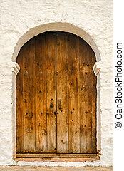 Colonial Church Door