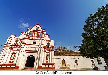 Colonial Church in Mexico
