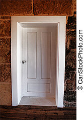 Colonial Door with Frame