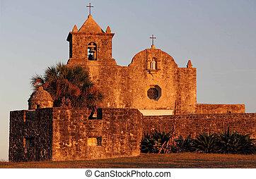 colonial, histórico, igreja