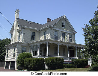 colonial, hogar