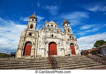 colonial, nicaragua, arquitectura